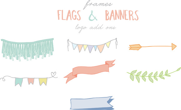 Flags Amp Banners Graphics On Creative Market