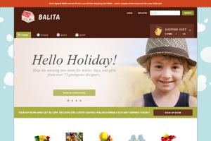Balita Woocommerce themes
