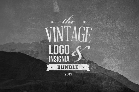 Vintage Logo Insignia Bundle