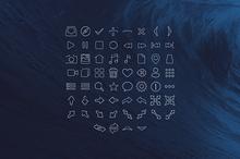 60 Stroke icons