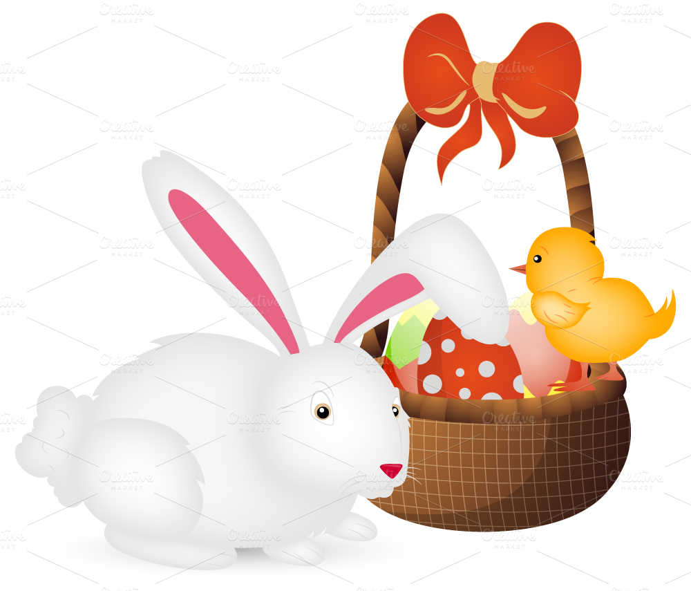 Happy Easter Vector Designs Illustrations On Creative Market