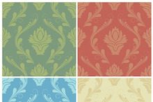 Swirl Damask Elements