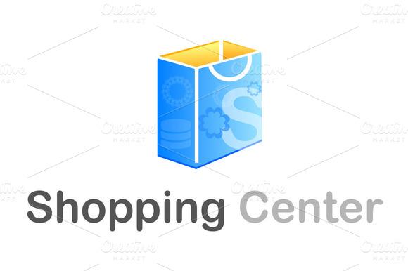 Shopping Center Logo