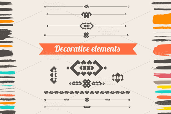 free vector decorative elements