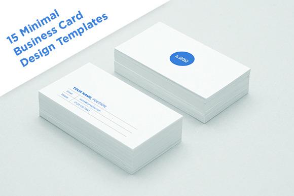 15 Minimal Business Card Designs