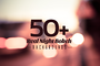50+ Real Night Bokeh Backgrounds - Web Elements - 2