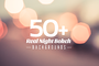50+ Real Night Bokeh Backgrounds - Web Elements - 1