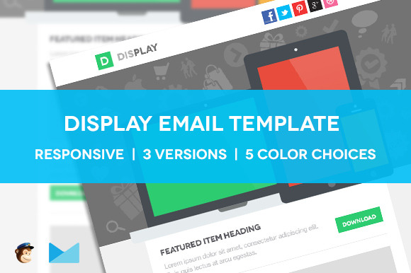 Display Responsive Email Template
