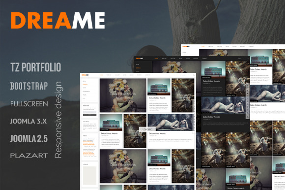 Dreame – Responsive Joomla Template ~ Joomla Themes  Free Download
