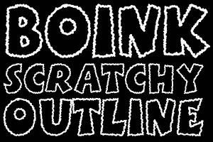 Boink Scratchy (Outline)