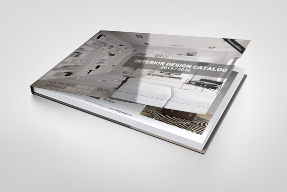 Landscape book mock up product mockups on creative market for Landscape design books