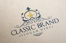 Classic Brand Logo Template