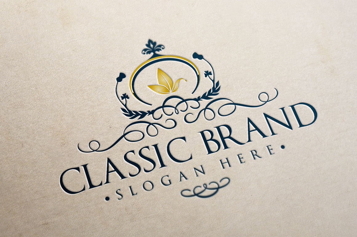 Classic Brand Logo Template Logo Templates On Creative Market