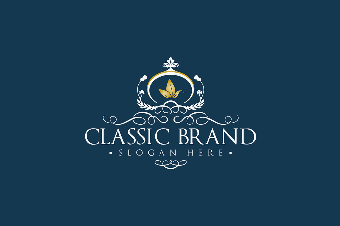 Classic Brand Logo Template Logo Templates On Creative