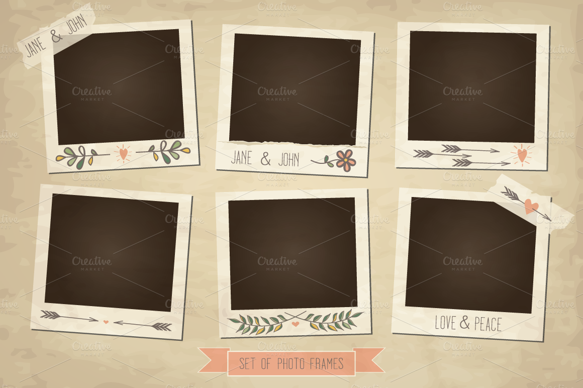 Photo Frame Png Vintage Photo Frames And