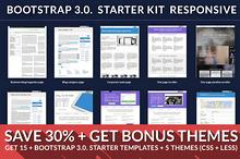 Bootstrap starter responsive KIT