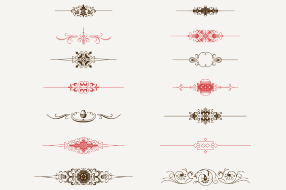 Decorative Text Dividers NЎг2