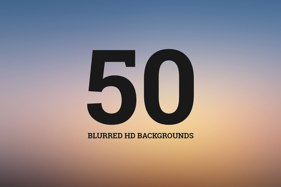 50 Blurred HD Backgrounds