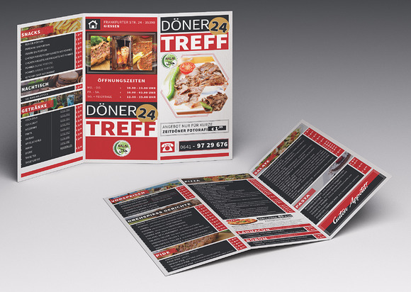 Cafe restaurant trifold brochure01 brochure templates for Restaurant brochure template
