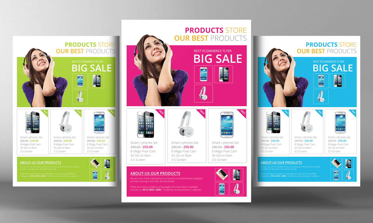 product brochure template free - products flyer template flyer templates on creative market