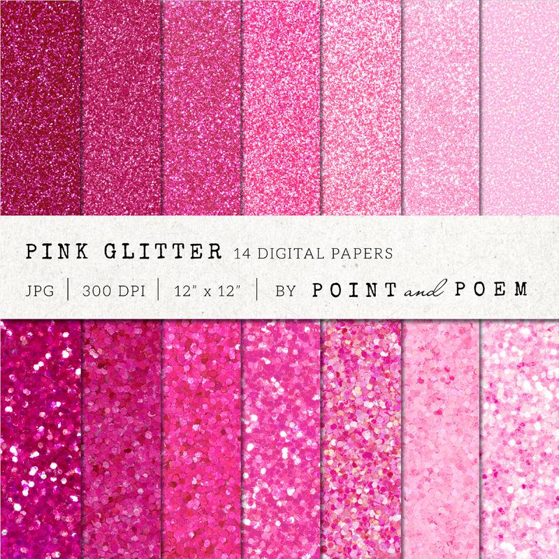 Pink Glitter Texture Textures On Creative Market