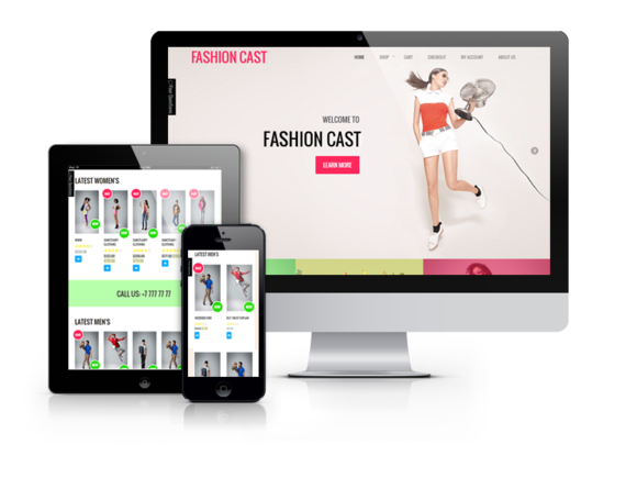Fashion Cast – WooCommerce  theme