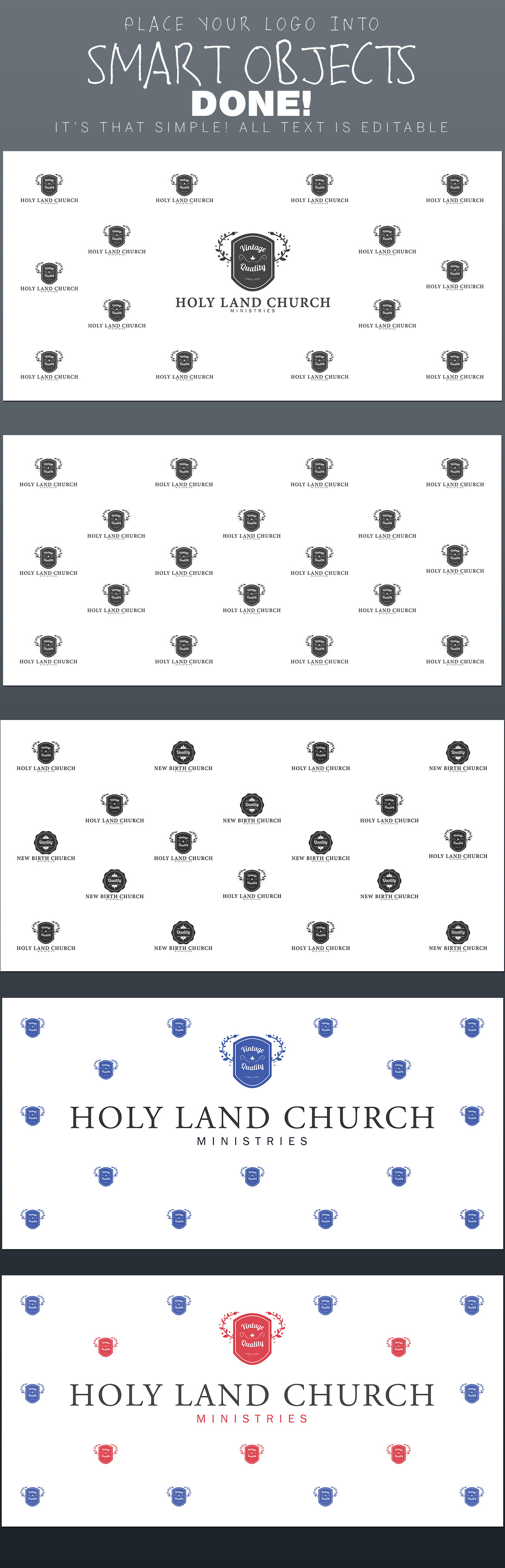 step and repeat backdrop template templates on creative market. Black Bedroom Furniture Sets. Home Design Ideas