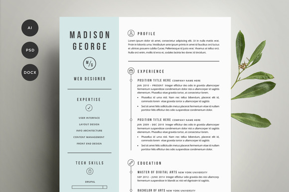cool resume template best creative resume templates updated ...