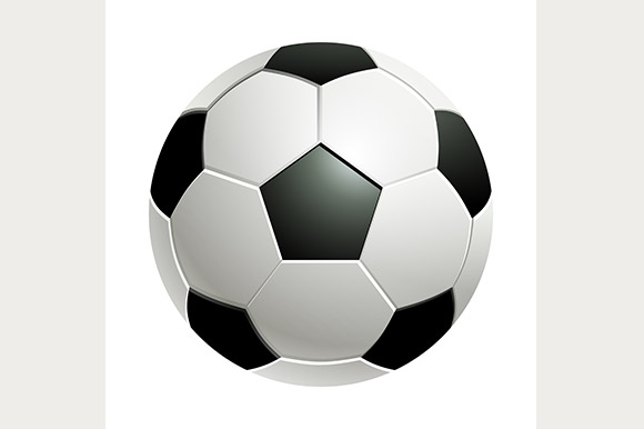 Football Classic Soccer Ball Illustrations On