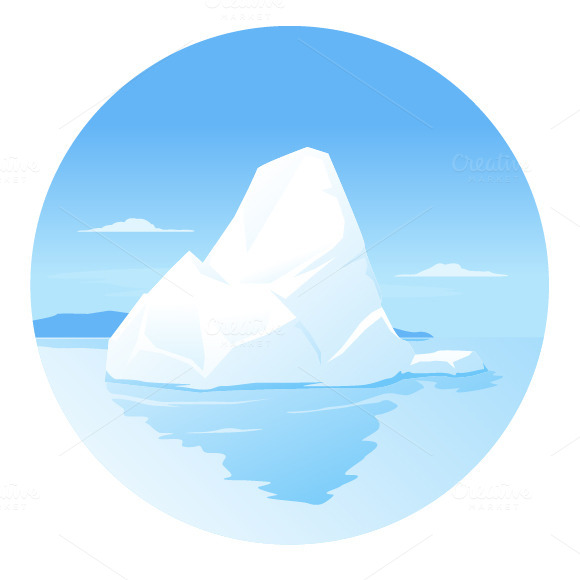Iceberg Illustrations On Creative Market