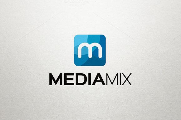 M Logo Media Logo