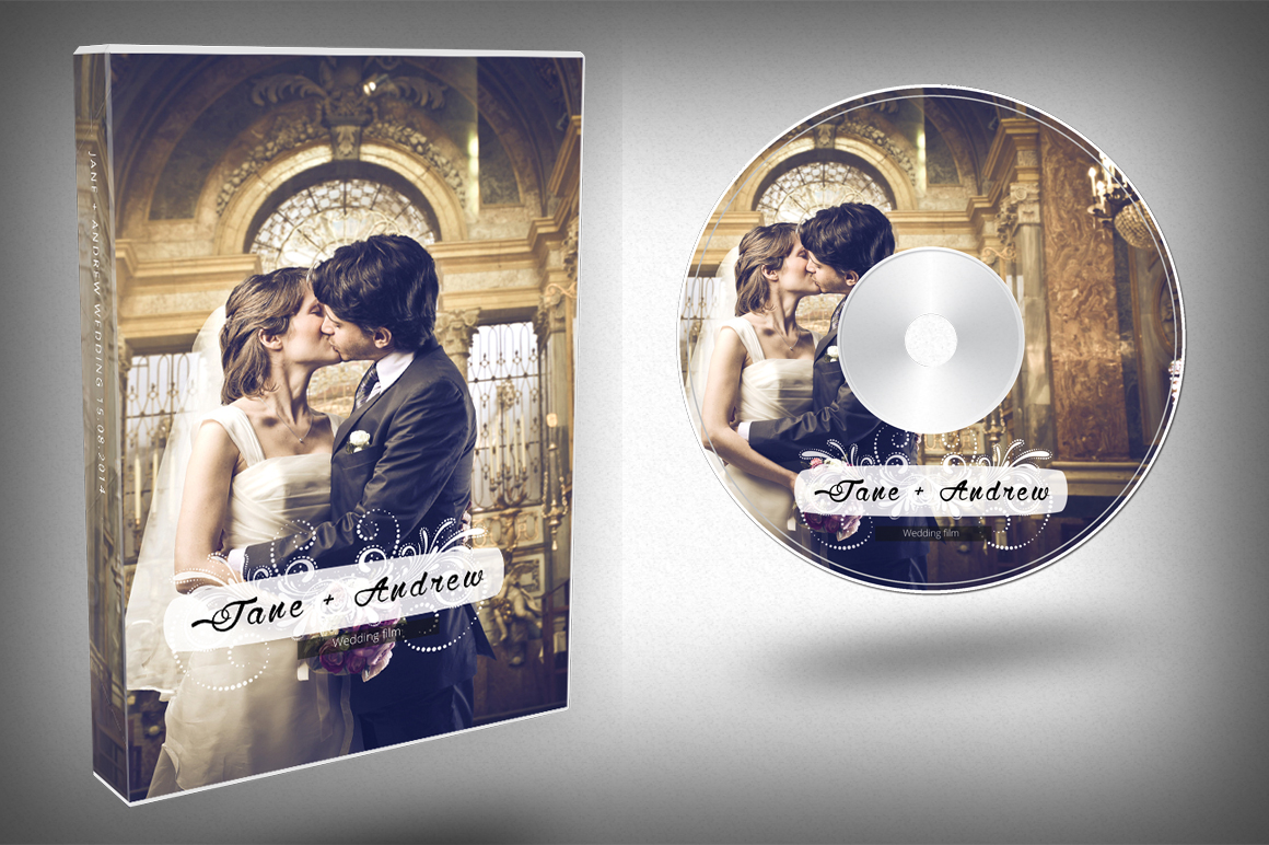 Elegant Wedding DVD Cover ~ Templates on Creative Market