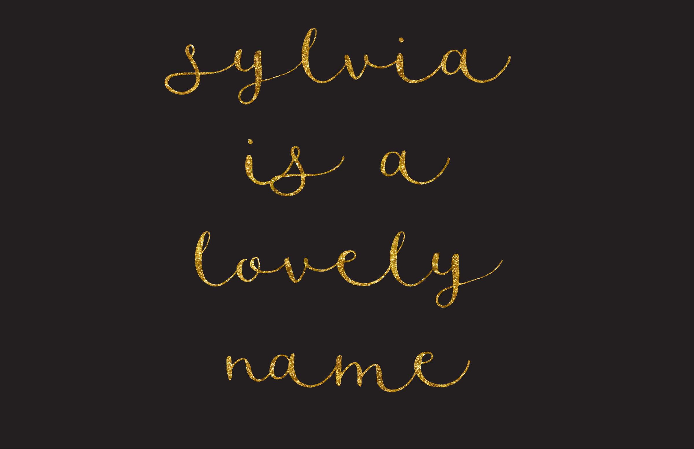 sylvia script