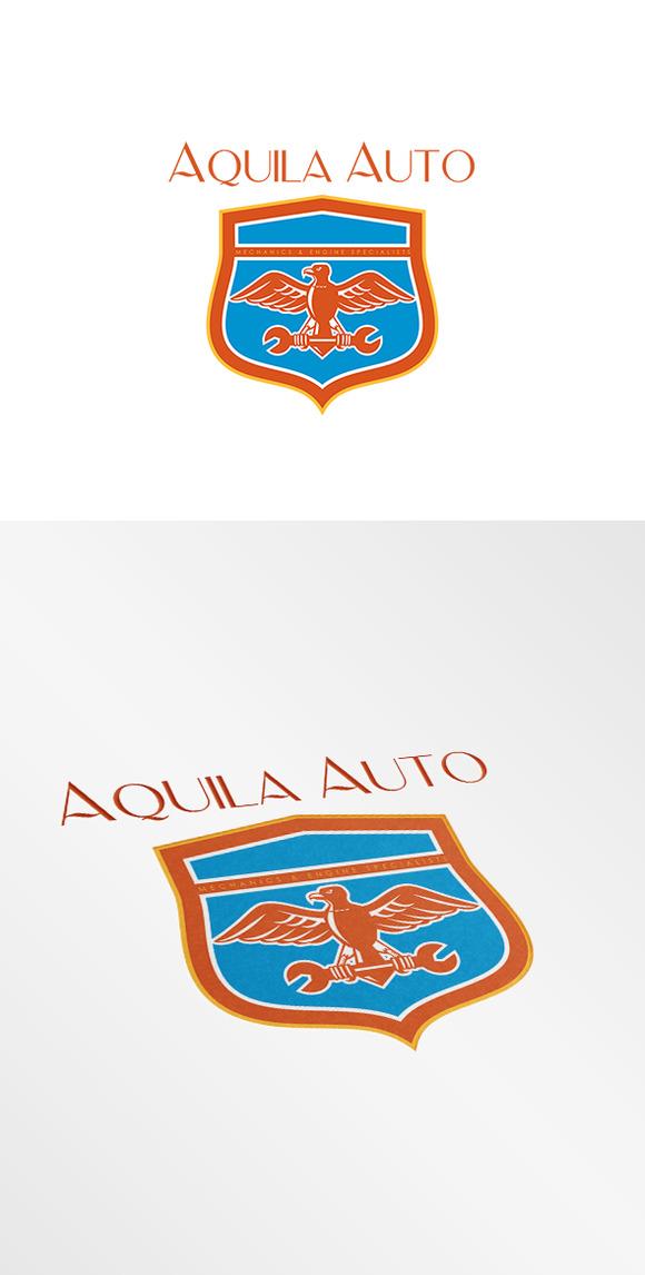 Aquila Auto Mechanics Logo
