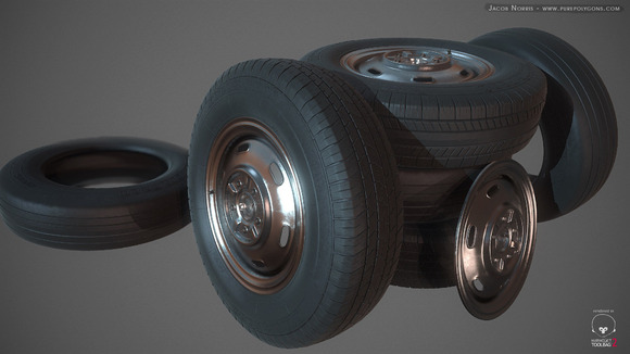 High Poly Tires And Textures