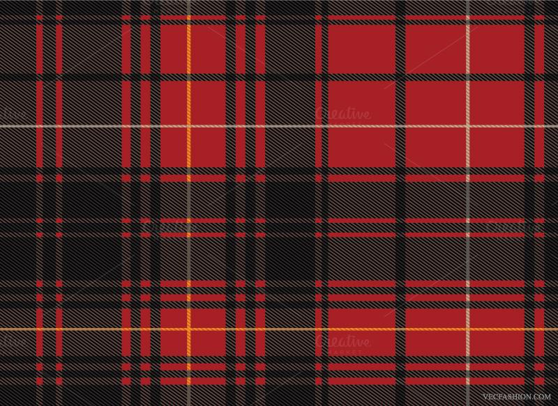 Seamless Scottish Tartan Pattern ~ Patterns on Creative Market