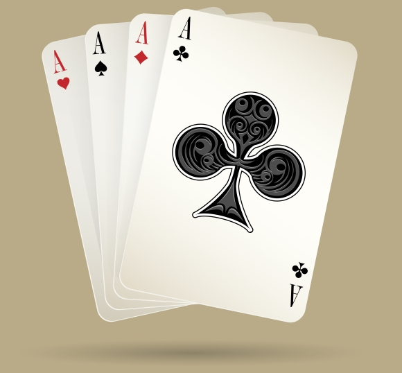 4 aces in poker means furniture store