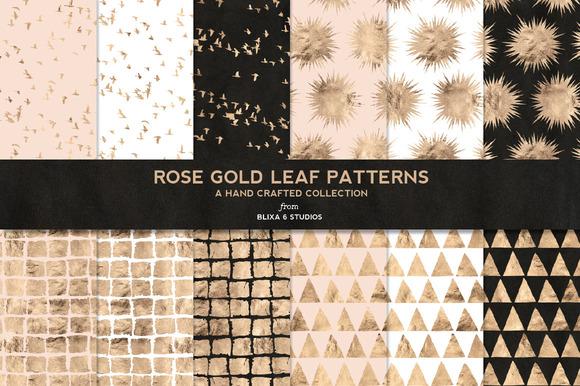 Rose Gold Background Rose Gold Leaf Digital