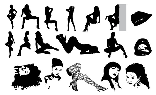 Too Sexy Vector Pack  Illustrations On Creative Market-7722