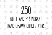 250 Hotel and Restaurant Do-Graphicriver中文最全的素材分享平台