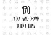 170 Media Hand Drawn Doodle-Graphicriver中文最全的素材分享平台