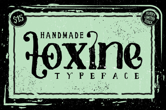 Toxine Font Download