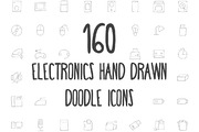 160 Electronics Hand Drawn -Graphicriver中文最全的素材分享平台