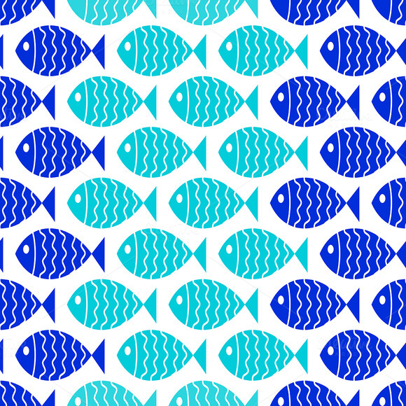 blue fish wallpaper backgrounds - photo #49
