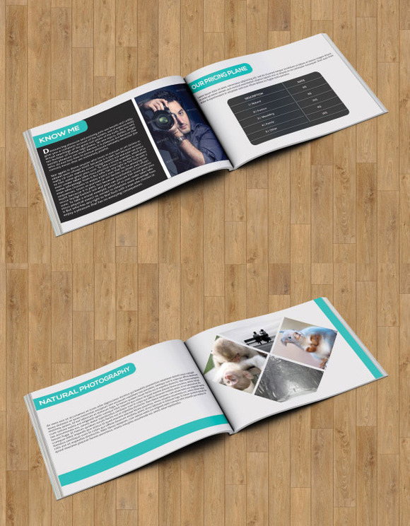 Photography brochure/catalog