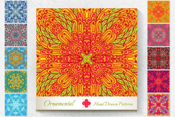 10 Ornamental Patterns. Set#4 - Patterns