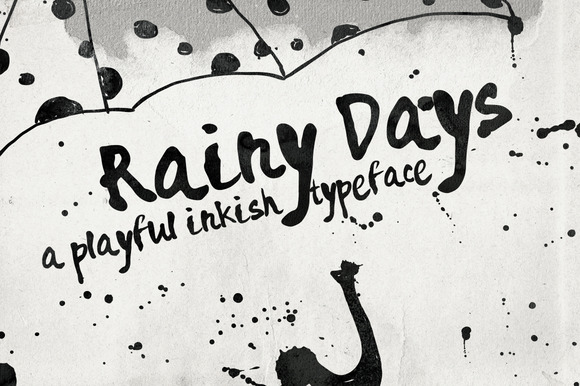 Rainy Days Font Download