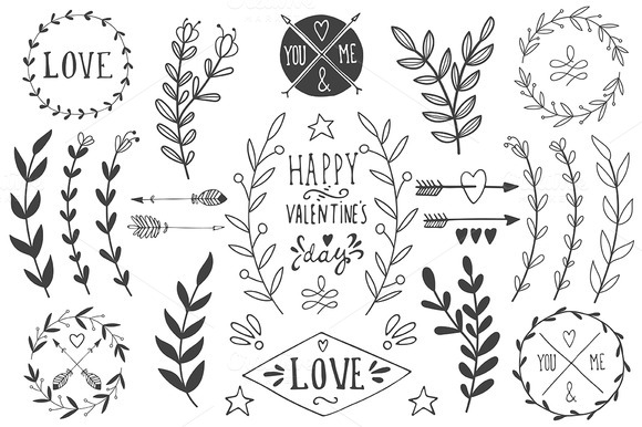 St. Valentine's day vector pack - Illustrations