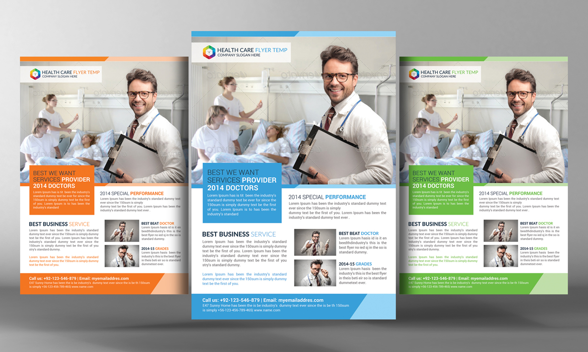 health care flyer template flyer templates on creative