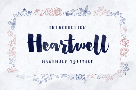 Heartwell ~ Display Fonts on Creative Market